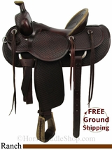 """SOLD 2014/10/23 $1399 PRICE REDUCED! 16"""" Used Billy Cook Ranch Saddle, Wide Tree usbi2826 *Free Shipping*"""