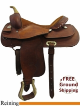 "16"" Used Billy Cook Reining Saddle usbi3224 *Free Shipping*"