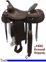 """Layaway SOLD 2015/11/16 16"""" Used Billy Cook Trail Saddle 1777 usbi3285 *Free Shipping*"""