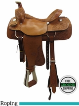 "SOLD 2016/06/08 16"" Used Billy Cook Wide Roper Saddle 2093 usbi3465 *Free Shipping*"