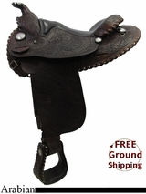 """SOLD 2015/08/24 16"""" Used Billy Royal Arabian Saddle, Wide Tree usbr3191 *Free Shipping*"""