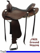 """SOLD 2015/09/28 16"""" Used Cashel Trail Saddle, Wide Tree usch3237 *Free Shipping*"""