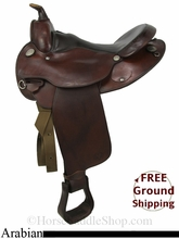 "16"" Used Circle Y Arabian Saddle uscy2833 *Free Shipping*"