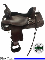 """SOLD 2017/02/12  16"""" Used Circle Y Cypress Wide Flex2 Trail Saddle 2360 uscy3692 *Free Shipping*"""