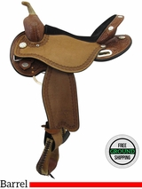 "16"" Used Circle Y Kelly Kaminski Blaze Wide Flex2 Barrel Saddle 1528 uscy3498 *Free Shipping*"