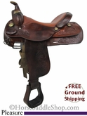 "SOLD 2014/03/03 $617.50 PRICE REDUCED! 16"" Used Circle Y Pleasure Saddle uscy2715 *Free Shipping*"