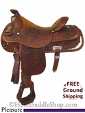 "SOLD 2014/02/22 $795 PRICE REDUCED! 16"" Used Circle Y Pleasure Saddle uscy2724 *Free Shipping*"