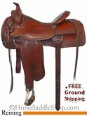 "16"" Used Circle Y Reining Saddle uscy2735 *Free Shipping*"