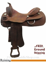 "16"" Used Circle Y Reining Saddle uscy3156 *Free Shipping*"