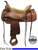 """SOLD on LAYAWAY 2016/03/24 PRICE REDUCED! 16"""" Circle Y Topeka 1651 Flex2 Trail Saddle, Exclusive uscy3094"""