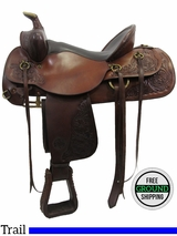 "PRICE REDUCED! 16"" Used Circle Y 3103 Trail Saddle 3103 uscy3143 *Free Shipping*"