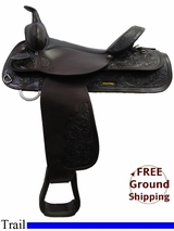 "PRICE REDUCED! 16"" Used Circle Y Trail Saddle uscy3200 *Free Shipping*"