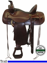 """SOLD 2016/08/17  16"""" Used Circle Y Wide Trail Saddle 2172 uscy3468 *Free Shipping*"""