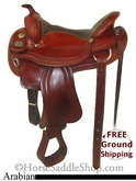 "16"" Used Crates Arabian Saddle uscr2658 *Free Shipping*"