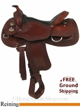 """SOLD 2014/8/6 $1499 16"""" Used Crates Ladies Reining Saddle uscr2857 *Free Shipping*"""