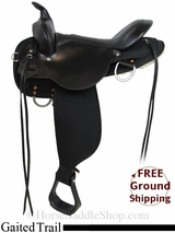 "SOLD 2015/01/06 16"" High Horse El Campo 6970 Cordura Gaited Trail Saddle, Floor Model ushh2974 *Free Shipping*"