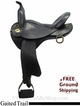 "PRICE REDUCED! 16"" Used National Bridle Shop, Inc. Gaited Trail Saddle usnb3046 *Free Shipping*"
