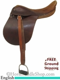 "PRICE REDUCED! 16"" Used Oxford English Saddle usen2660 *Free Shipping*"