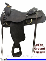 "PRICE REDUCED! 16"" Used Ozark Trail Saddle usoz2992 *Free Shipping*"