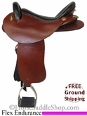 "SOLD 2014/03/06 $1399 16"" Used Saddle Ranch Flex Endurance Saddle uscu2705 *Free Shipping*"