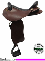 "16"" Used Saddle Ranch Medium Endurance Saddle, 08-02-360X ussr3347"
