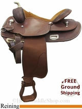 "16"" Used Saddlesmith Reining Saddle, Wide Tree usss3059 *Free Shipping*"