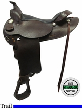 "16"" Used Simco Wide Trail/Arabian Work Saddle ussi3510 * Free Shipping*"