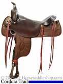 "17 1/2"" Big Horn Draft Cordura Saddle bh296"