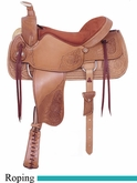 "17.5"" American Saddlery Pro-Dally II Roper Saddle am1865"