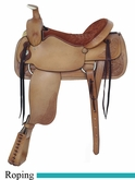 "17.5"" American Saddlery Pro-Dally Roper Saddle am1860"