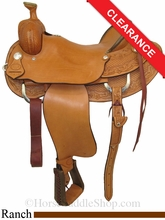"17.5"" Saddlesmith High River Ranch Saddle 291-809"