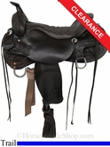 "17.5"" Tucker Meadow Creek Trail Saddle 291"