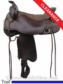 "17.5"" Tucker Northwest Trail Saddle 254"