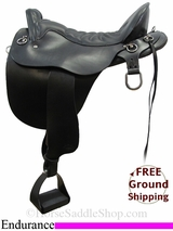 "17.5"" Tucker Plantation 146 Endurance Saddle, Exclusive ustk3095 *Free Shipping*"