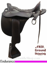 "17.5"" Tucker Plantation 146 Endurance Saddle, Exclusive ustk3098 *Free Shipping*"