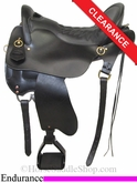 "17.5"" Tucker Vista Endurance Trail Saddle 153"