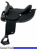 "17"" Abetta Gaited Comfort Trail Saddle 205377"