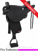 "17"" Abetta Stealth Flex Endurance Saddle 20571"