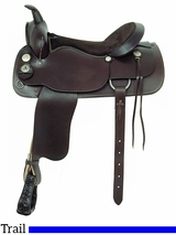 "17"" American Saddlery Trail Master Saddle 1344"