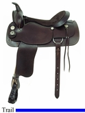 "17"" American Saddlery Trail Master Saddle am1344"