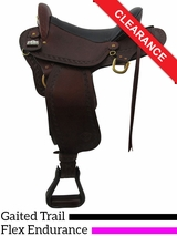 "17"" Big Horn Endurance Gaited Flex Saddle 1685 CLEARANCE"