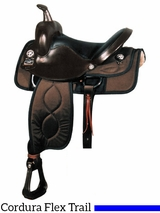 "17"" Big Horn Flex Synthetic Trail Saddle 299"