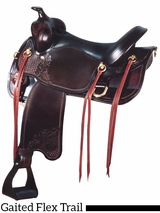"** SALE ** 17"" Big Horn Flex Gaited Saddle 1545"