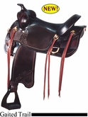 "17""  Big Horn Gaited Saddle 1545"