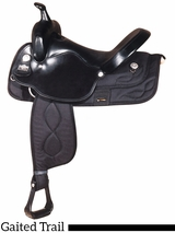 "17"" Big Horn Synthetic Gaited Saddle 293"