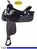 "17"" Big Horn Synthetic Saddle 293"