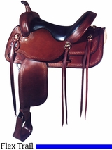 "17"" Big Horn Flex Trail Saddle 1696"