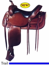 "17"" Big Horn Trail Saddle 1696"