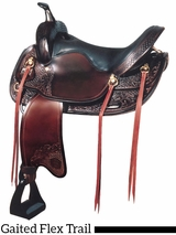 "** SALE ** 17"" Big Horn Walking Horse Saddle 1701"