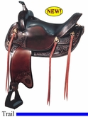 "17"" Big Horn Walking Horse Saddle 1701"